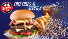 Zark's Burgers FREE Fries and Iced Tea Avengers End Game Promo FI