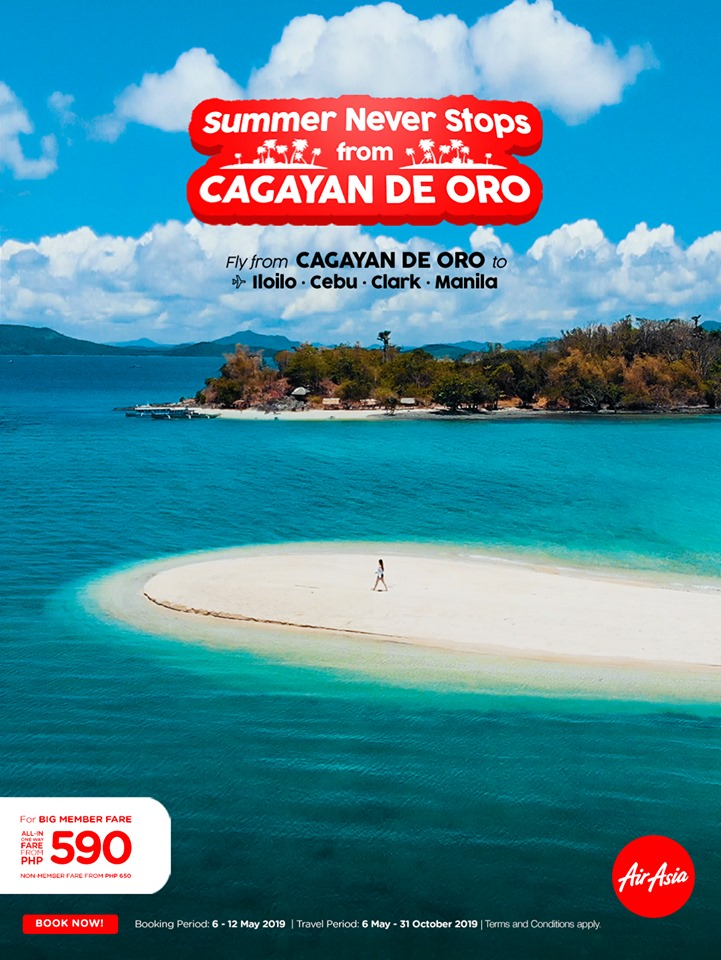 air asia summer never stops