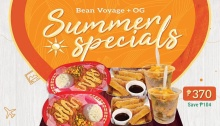 bean voyage and OG summer specials FI