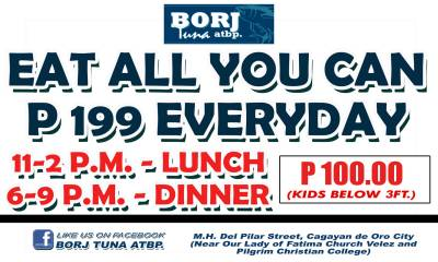 Borj Tuna Eat All You Can Everyday