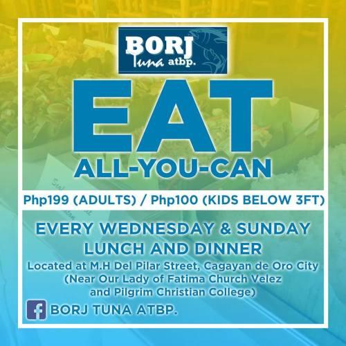 borj tuna eat all you can WED SUN