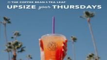 CBTL upsize your thursdays
