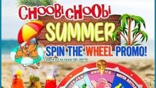 choobi choobi spin the wheel promo FI
