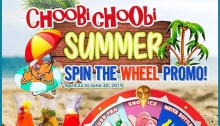choobi choobi spin the wheel promo FI