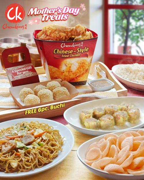 Chowking Mothers Day Treat