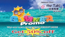 Japanese Diner The Taki Like No Other Summer Promo FI
