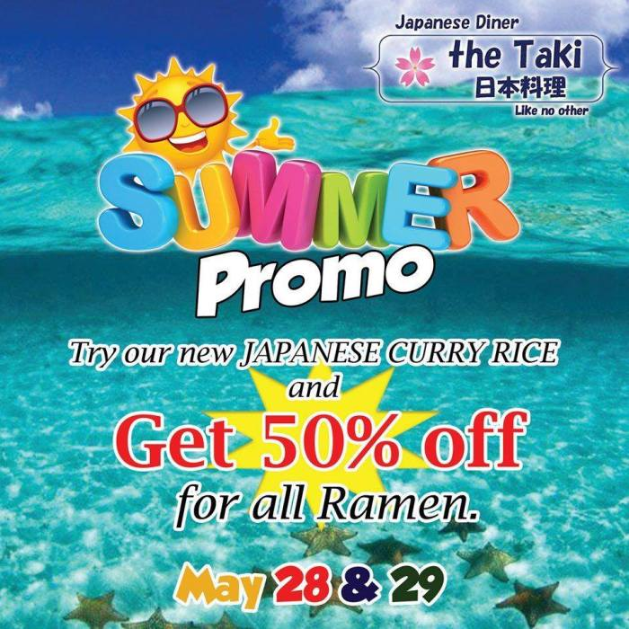 Japanese Diner The Taki Like No Other Summer Promo