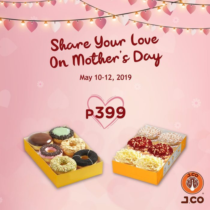 JCO Mothers Day Promo