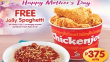 Jollibee FREE Jolly Spaghetti Mothers Day 2019 Promo FI