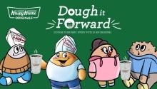 Krispy Kreme Dough it Forward Election Day Promo FI