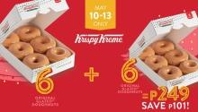 Krispy Kreme Dozen Original Glazed Doughnuts for P249 FI
