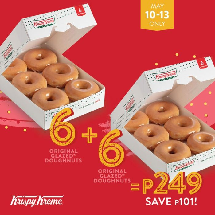 Krispy Kreme Dozen Original Glazed Doughnuts for P249