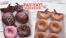 Krispy Kreme P299 Pay-Yay Weekend FI