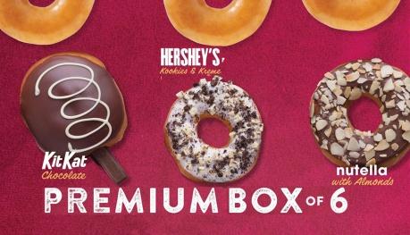 Krispy Kreme Premium Box of 6 FI