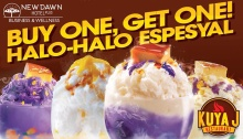 Kuya J Newdawn Hotel 1st Anniversary Buy 1 Take 1 Halo Halo FI