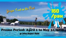 LOHAS Airport Hotel Swimming Pool Summer Promo FI