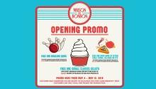 Maison de Bon Bon SM Downtown Premier Opening Promo FI bg