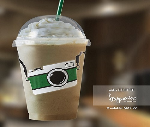 Starbucks Grande Wednesday May 22 Camera and Coffee Frappuccino