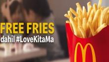 McDonalds FREE Fries LoveKitaMa Mothers Day Promo FB FI