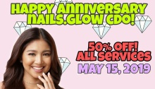 NAILS.Glow CDO 2nd Anniversary Promo FI
