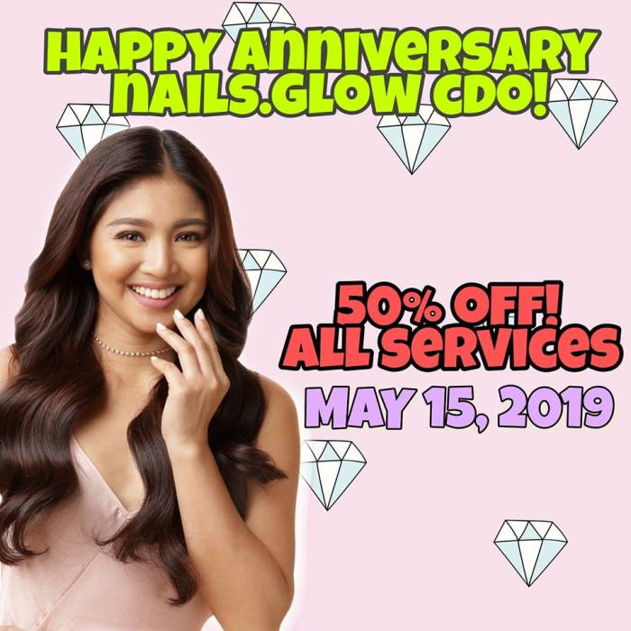 NAILS.Glow CDO 2nd Anniversary Promo