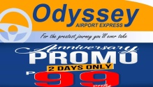 Odyssey Airport Express Anniversary Promo FI