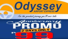 Odyssey Airport Express Anniversary Promo FI