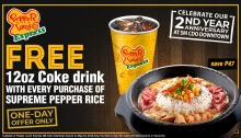 Pepper Lunch Express SM CDO Downtown Premier 2nd Year Anniversary Treat FI