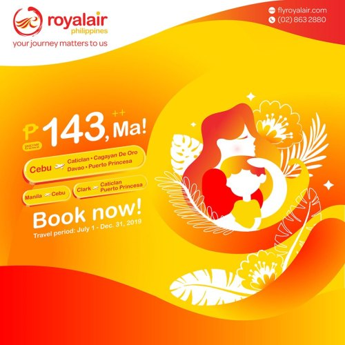 Royal Air Mothers Day Promo