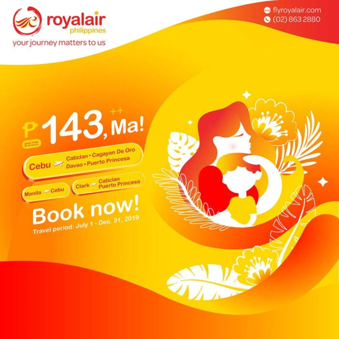 Royal Air Mother's Day Promo
