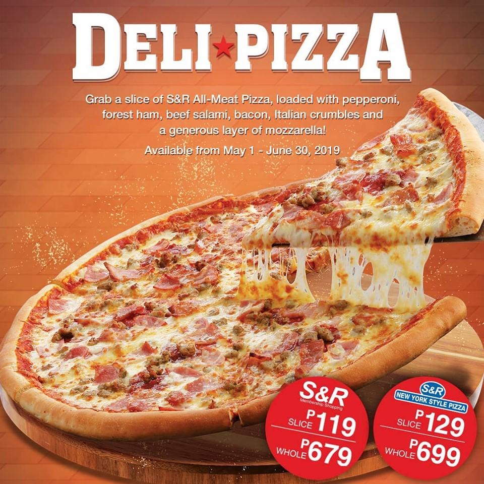 S&R Deli Pizza