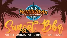 Seven Seas Waterpark Sunset BBQ P499 Entrance FI