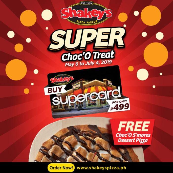 Shakey's SuperCard Super Choc'O Treats!