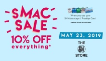 SM Advantage Card Sale 10percent Off Everything FI