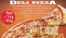 S&R delizza pizza FI