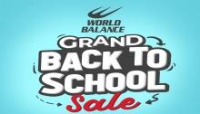 World Balance Centrio Grand Back To School Sale FI