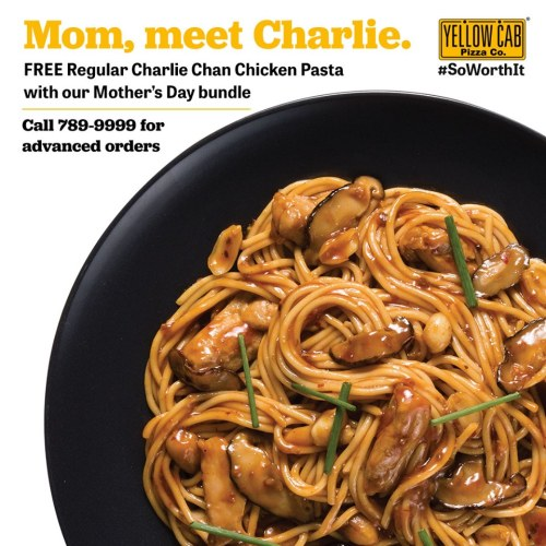 Yellow Cab Pizza Mother's Day Bundle