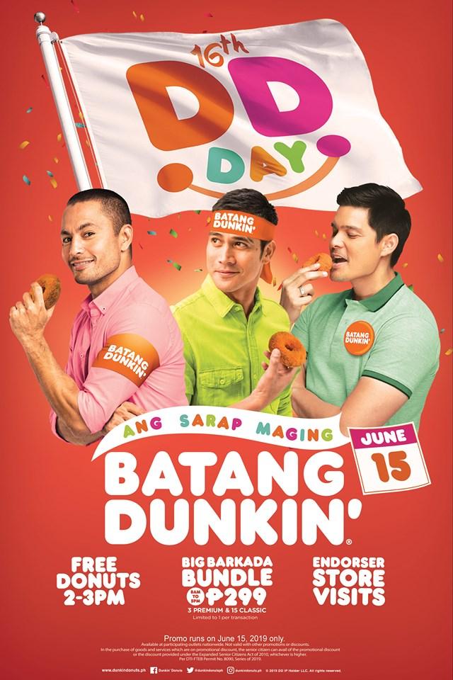 Dunkin Donuts 16th DD Day