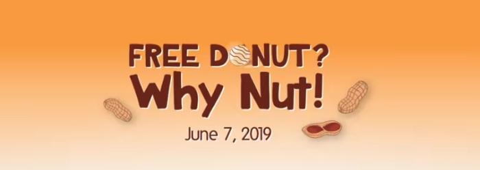free donut why nut header