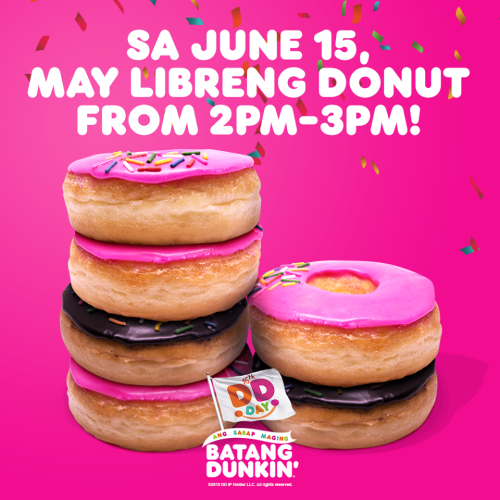 Free Donuts Dunkin Donuts DD Day