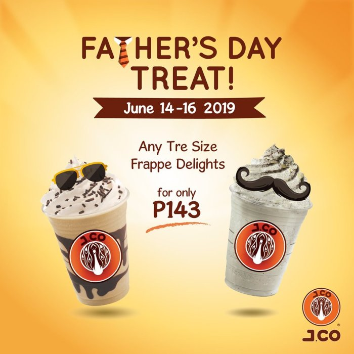 J.CO Fathers Day Treat