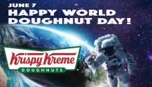 Krispy Kreme World Doughnut Day FREE Doughnut FI2