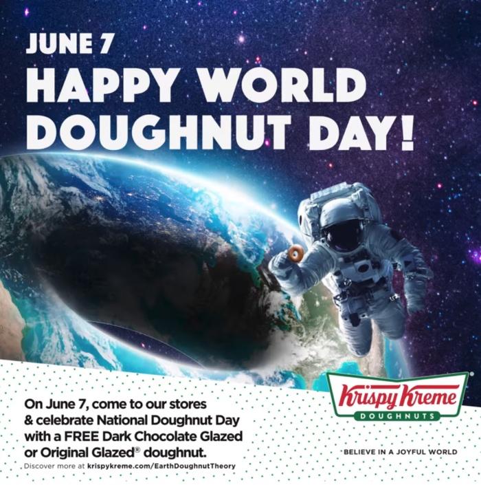 Krispy Kreme World Doughnut Day FREE Doughnut