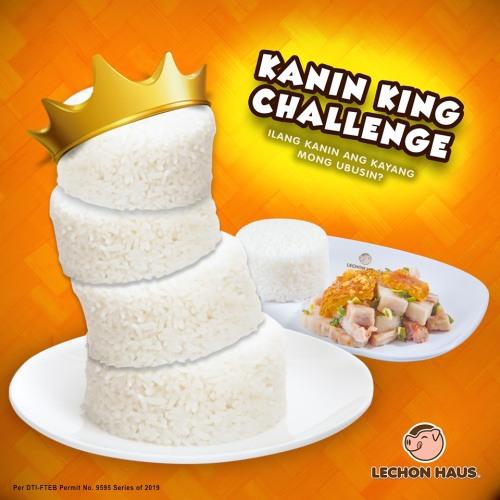 lechon haus kanin King Challenge