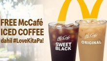McDonalds Fathers Day FREE Iced Coffee Promo cover FI