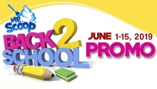 Mr Scoop Ice Cream Back to School Promo FI2