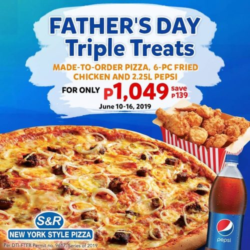S and R Fathers Day Triple Treats 1049