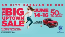 SM City Cagayan de Oro The Big Uptown Sale FI