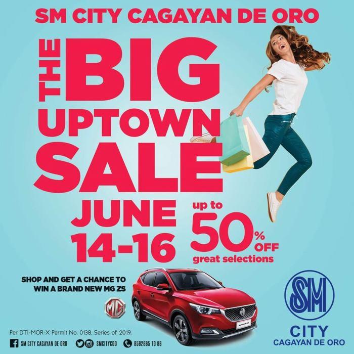 SM City Cagayan de Oro The Big Uptown Sale sq