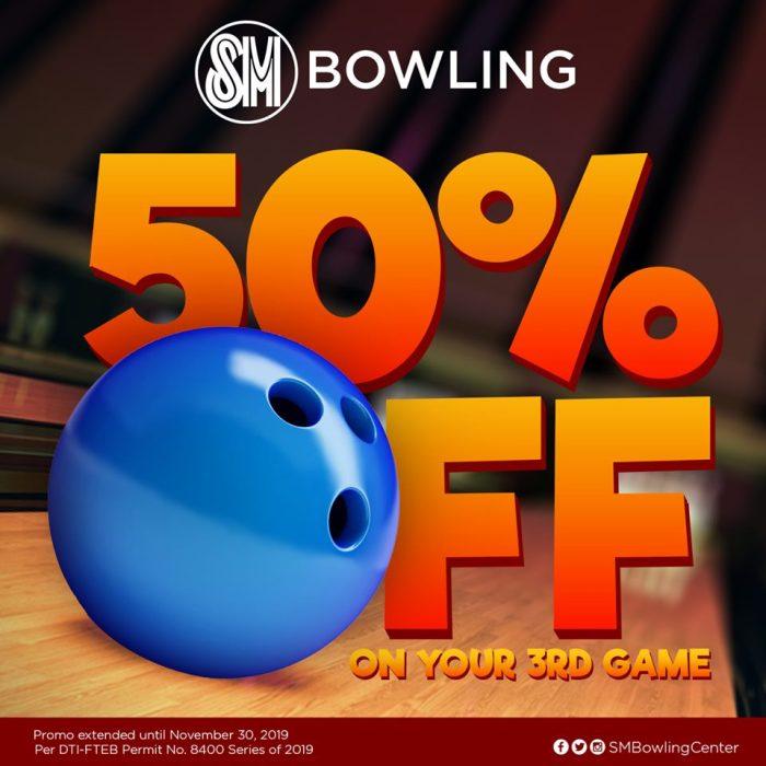 SM Downtown Premier 50percent off bowling